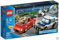 LEGO City 60007 High Speed Chase NEW Factory Sealed