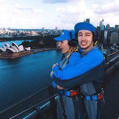 "(@jennaajoseph) on Instagram: ""We ascended the Sydney Harbour Bridge"" 4/11/17"