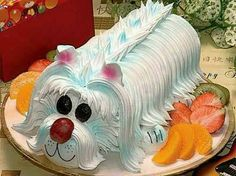 Doggy cake roll