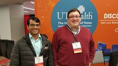 Love running into our students (Scott Malec) & faculty members (Deevakar Rogith) hanging out together. #AMIA2016