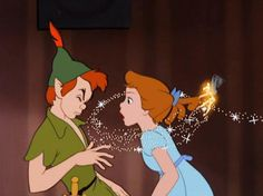 Peter Pan and Wendy Darling