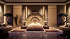 stunning bedroom lighting design
