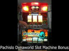 Pachislo Dynaworld Slot Machine Bonus