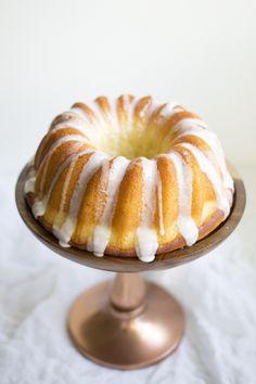 Meyer Lemon Bundt Cake
