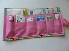 Tutorial for a small first aid kit. So cute!