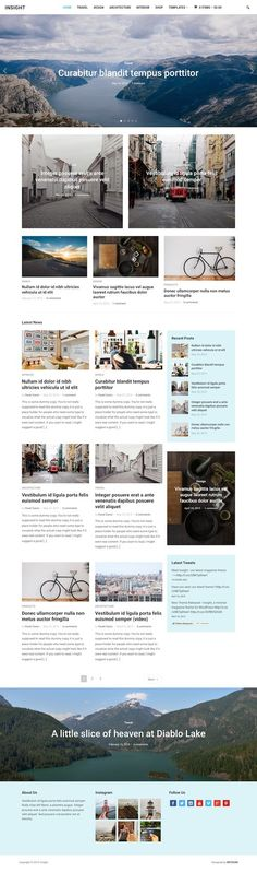Insight: Magazine WordPress Theme