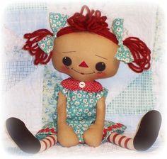 Design Patterns » Rag Doll Sewing Patterns