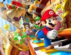 Wallpaper Mario HD