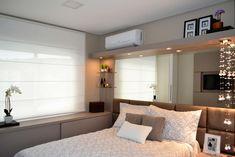 Dormitorios de estilo moderno por Join Arquitetura e Interiores