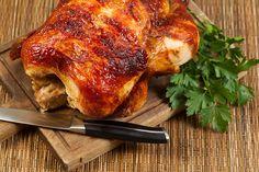 Poulet entier savoureux sur BBQ | Recettes du Québec