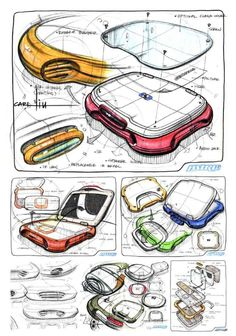 Carl Liu Illustration Sketches, Drawing Sketches, Drawings, Sketching, Sketch Design, E Design, Sketch Photoshop, Industrial Design Sketch, Drawing Techniques
