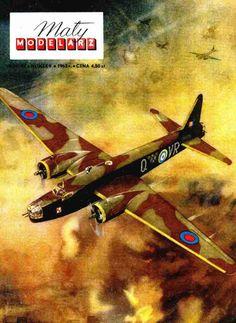 M1:???, Журнал Maly Modelarz - 9/1963 - Бомбардировщик Vickers Wellington Mk III из бумаги и картона