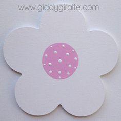Furniture Decal - Polka Flower