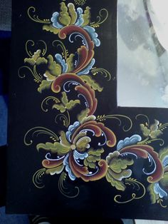 Bunad, Smykker, vev & rosemaling: Rosemaling