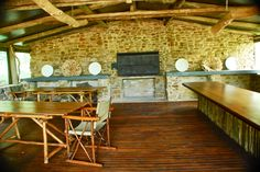 Inside the Day Trip Center at Forest Camp in Sibuya Game Reserve, Eastern Cape, South Africa www.sibuya.co.za Forest Camp, Picnic Lunches, Game Reserve, Day Trips, South Africa, Cape, Mantle, Cabo, Coats