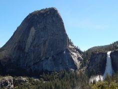 Nevada Fall Yosemite National Park Yosemite National Park, National Parks, Yosemite Waterfalls, Nevada, Tours, Mountains, Nature, Travel, Naturaleza