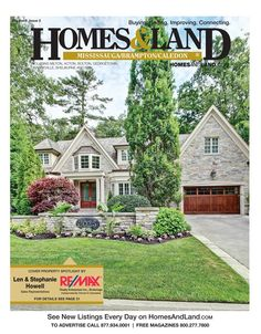 Browse #homesforsale and connect with local #realestate in the latest digital issue of Homes & Land of Mississauga/Brampton/Caledon #homesandlandmagazine #ontario #goldenhorseshoe