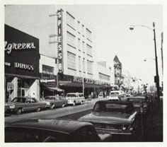 1966-1967? Elgin Illinois, Chicago Area, Department Store, Vintage Photography, Street View, Memories, History, Places, Sweet