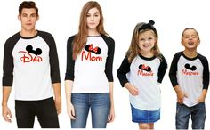 This site has so many Disney family shirts!  I got these for my family!     Matching Disney Family Shirts - New Styles Added!