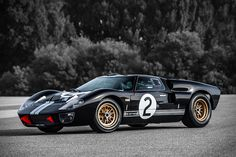 Shelby American is offering a chance to own one of 20 Shelby MKIIs to celebrate the original car's finish at the 24 Hours of Le Mans in The Anniversary Shelby . Ford Gt40 For Sale, Supercars, Sport Cars, Race Cars, Replica Cars, Automobile, Ford Shelby, Old Fords, Mens Gear