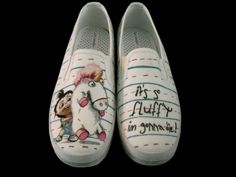 74ee9f7b11 Despicable Me Agnes Custom Shoes by LineLab on Etsy
