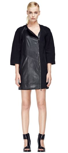 V S P Shearling Coat, Ss 15, Sophisticated Style, Skirts, Leather, Jackets, Dresses, Women, Fashion