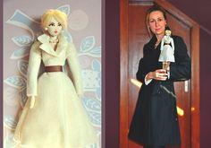 Custom Portrait Rag Doll Customizable Personalized by LocoGlam