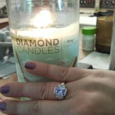 a ring inside every candle valued between $10 to $5,000