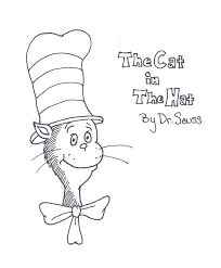 Related Image More Information Printable Coloring Page Cat In The Hat