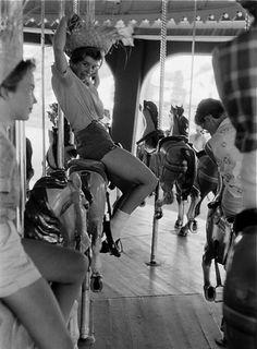 Coney Island, 1963. Photo: Harold Feinstein. #NewYorkNewYork