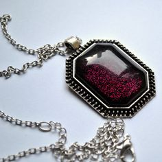 Evil Queen pendant in Tudor setting necklace nail by TartanHearts