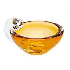 Olive Dish Amber  #godinger #olivedish #partydecor #giftware #events #holidayparty