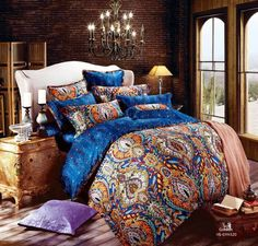 blue paisley bedding - Yahoo Image Search Results