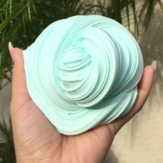 Fluffy mint slime