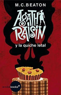 Agatha Raisin Agatha Christie, Quiche, Agatha Raisin, Raymond Chandler, John Grisham, Film Music Books, Got Books, Children's Literature, Book Publishing