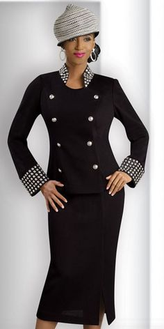 Donna Vinci Knits 2912 Womens Novelty Church Suit at frenchnovelty.com