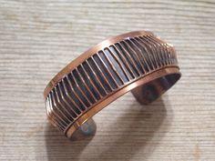 Renoir Cuff Bracelet Copper Bracelet Renoir Copper by TheCopperCat