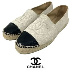 The three C's: Comfy, Chic, and Chanel! Swing by Flip and pick up these espadrilles today! To purchase, call (615) 732-3547. We ship! Featured items: Chanel espadrilles size (42) $598 - #nashville #consignment #flipnashville #chanel #chanelespadrille