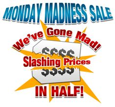 MONDAY MADNESS SALE at Trainer's Choice Vitamins, Supplements, and Nutritional Products !!! 30% OFF EVERYTHING IN THE STORE TODAY ONLY!!!!! Plus TONS of CLEARANCE ITEMS ON SALE up to 50% OFF!!! We are OPEN 9am-9pm! Located next to Slidell Athletic Club and the Italian Pie right past Copeland's...Call 985-641-6696 to order or for more information. WE SHIP WORLD WIDE!