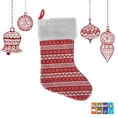 Η Χριστουγεννιάτικη #κάλτσα είναι ένα από τα πιο τρυφερά έθιμα των γιορτών. 💝 Στολίστε την στο #τζάκι σας, ή στο #δέντρο, γεμίστε την με δωράκια και γλυκίσματα και κάντε τα παιδιά να χαρούν ανήμερα τα #Χριστούγεννα!🎄🎅🍭🎁 Θα τη βρείτε στο #MySeason!
