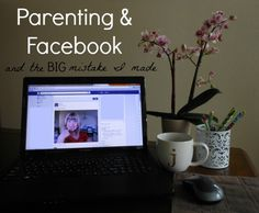 Parenting & Facebook! This is something for all parents to think about when it comes to our kids and our social media accounts!
