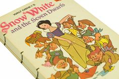 1973 SNOW WHITE Vintage Book Notebook ($46.50, includes shipping)