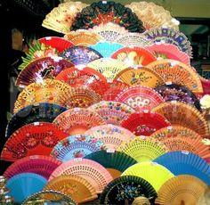 Flamenco hand-fan shop - Sevilla, Spain - Objects - Photographs - Blipoint