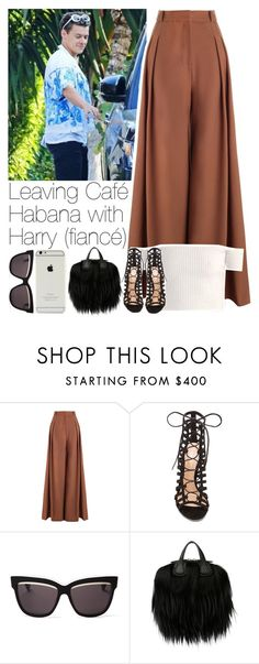 """""""Leaving Café Habana with Harry (fiancé)"""" by lottieaf ❤ liked on Polyvore featuring Zimmermann, Gianvito Rossi, Christian Dior, Givenchy, OneDirection and harrystyles"""