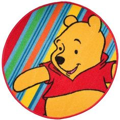 "Disney Winnie The Pooh Round 26"" x 26"" Bath Rug by Disney. $12.87"