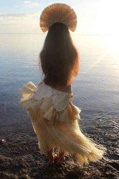 my beautiful friend in beautiful Tahiti