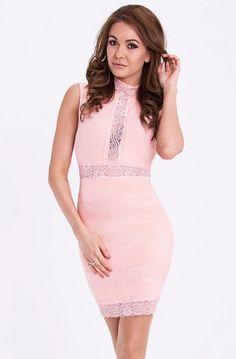 EMAMODA DRESS - Powder Pink 15002-4