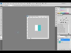 How to Create a Striped Background Pattern Using Photoshop - YouTube