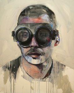 "Saatchi Online Artist Lou ROS; Painting, ""BD2"" #art"