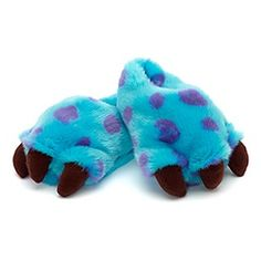 Discover our wondrous range of Monsters, Inc. merchandise, including Sulley and Mike soft toys, DVDs and more, available on the Disney Store. Disney Slippers, Fuzzy Slippers, Kids Slippers, Sully Monsters Inc, Disney Monsters, Pyjama Disney, Monster Inc Costumes, Bedroom Slippers, Polyvore Outfits